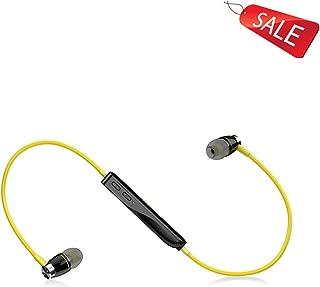 Wireless Headphones Earbud Earphones Bluetooth Earbud Earphones Bluetooth 4.1 Green White Yellow ( Color : Yellow )