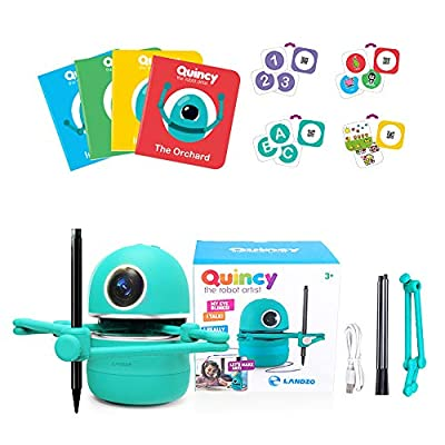 SEAAN Intelligent Drawing Robot Automatic Painting Robot Educational Smart Robot Artist with Study Card Pens Gift for Boys and Girls