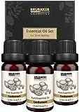 BRUBAKER Set de 3 Aceite Cardamomo - Aceites Esenciales Set