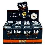Tarbust Filtres à Cigarettes Jetables, Présentoir de 24 Paquets (24x30 filtres) | Anti Nicotine, Anti Goudron filtres Cigarettes