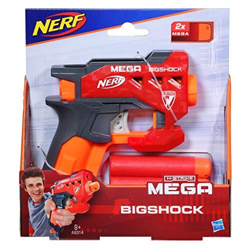 Nerf - Lanzadardos Bigshock (Hasbro A9314EU4)