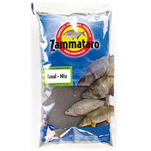 ZammataroFertigfutter Kanal Mix Black 1kg