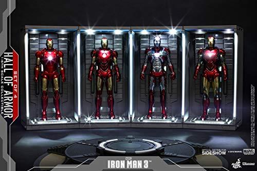 Hot Toys DS001 Sala di armatura per Iron Man 3, Scala 1/6