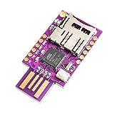 Hihey TF MicroSD Ranura para Tarjeta Micro SD Badusb USB Teclado Virtual Módulo ATMEGA32U4 para Leonardo R3 Malo USB