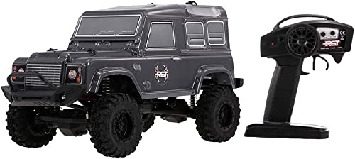 Homyl 1 24 RGT Camion Télécomhommedé RC Rock Crawler D90 4WD Modèle de Voiture de Course Camion d'Escalade - Noir