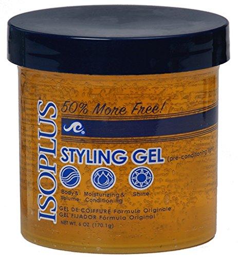 Isoplus Hair Gel Style Lt Bonus, 6 Oz