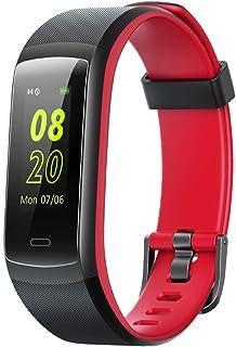 Pulsera de Actividad, Pulsera Inteligente con Pulsómetro Reloj Inteligente Impermeable IP68 Pulsera para Deporte Pulsera Actividad Inteligente para Mujer Hombre para Android iOS Teléfono