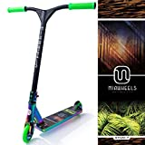 MIAWHEELS XT-120 (Tropical - Green) Stunt Scooter- NEO-Chrome- 120MM Wheels- Made for Tricks- PRO Scooter
