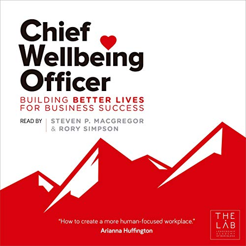 Chief Wellbeing Officer audiobook cover art