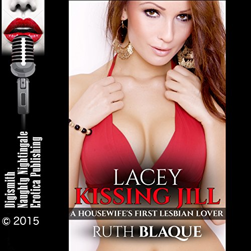 Lacey Kissing Jill audiobook cover art