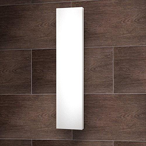 Wohnraum-Heizkörper Milano, Mittelanschluss, 180x60 cm, 1070 Watt Leistung, alpin-weiß, Design-Heizkörper für Zweirohrsysteme