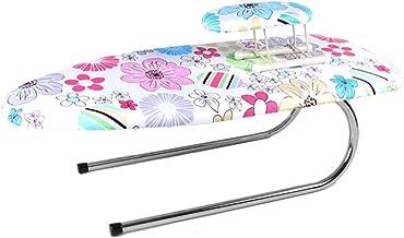 Desktop Ironing Board, Bedroom U Type Foldable Electric Iron Shelf Light With Sleeve Ironing Board, 73 * 32 * 23CM (color ...
