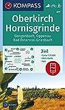 KOMPASS Wanderkarte Oberkirch, Hornisgrinde, Gengenbach, Oppenau, Bad Peterstal-Griesbach: 3in1 Wanderkarte 1:25000 mit Aktiv Guide inklusive Karte ... Langlaufen. (KOMPASS-Wanderkarten, Band 877)