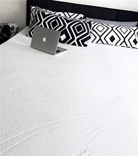 SW Bedding Viscoelastische Matratzenauflage 200 x 180 x 7cm H3 mit Bezug medicare Boxspringbett Auflage - 30 Tage Probeschlafen