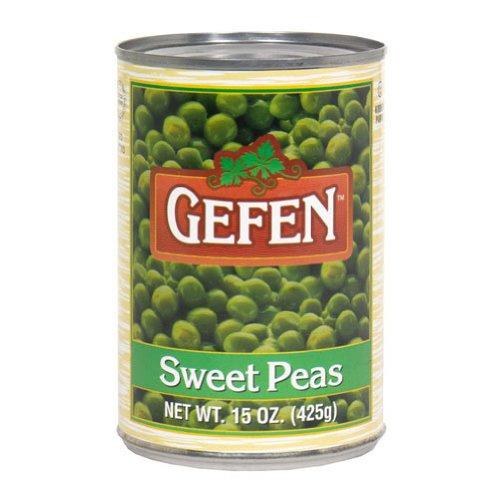 Gefen Sweet Peas 15-Ounce 格安SALEスタート 卓抜 of Pack 24