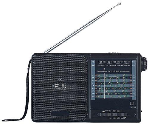 auvisio Weltradio: Analoger 20-Band-Weltempfänger mit FM, MW und 18x KW (FM Radio)