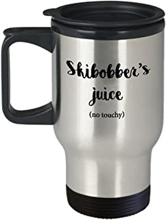 Travel Mug, STHstore Personalized SKIBOB SKIBOBBER'S JUICE (NO TOUCHY) SKIBOBBER Water Bottle Insulated Stainless Steel Sport Coffee Mugs 14 oz