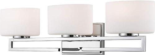 lowest Z-Lite wholesale 335-3V-CH-LED 3 outlet online sale Light Vanity, Chrome online sale