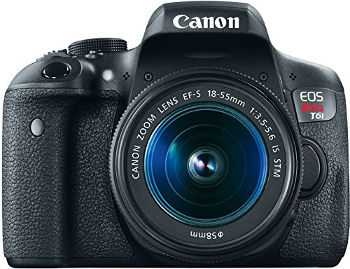 Canon EOS Rebel T6i Digital Camera: 24 Megapixel 1080p HD Video Wifi Enabled DSLR Bundle With Wide Angle 18-55mm Lens 32GB Filters Bag & More - Professional Vlogging Sports & Action Camera