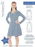 MAGAM-Stoffe Raglan Jersey Kleid Schnittmuster Mädchen und