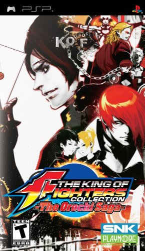 King of Fighters Collection- The Orochi Saga - Sony PSP