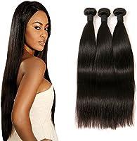 Peruvian Straight Human Hair Extensions Echthaar 300g Langes Echt Haare Verlängerung Weft Remy Extensions Echthaar Zum...