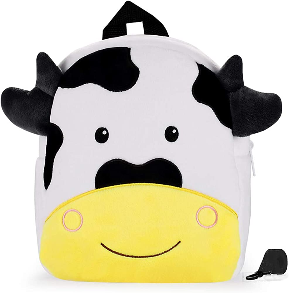 Cute Toddler Backpack Stuffed Cartoon Animal Mini Schoolbag For
