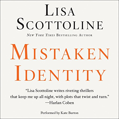 Mistaken Identity audiobook cover art