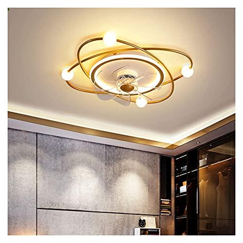 William 337 Luces de Ventilador, Luces de Ventilador de inversor atmosféricas, Luces Modernas de la Sala de Estar, Luces de Techo integradas, Luces de Dormitorio, lámparas para el hogar