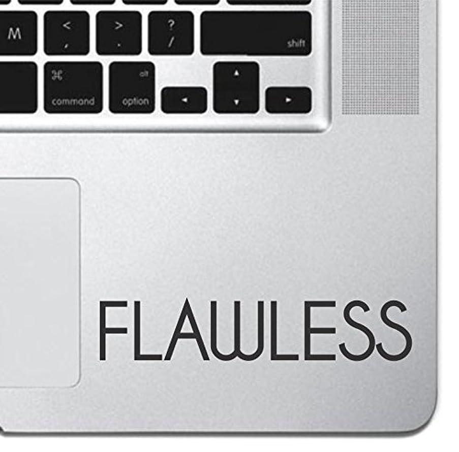Flawless Inspirational Laptop Sticker Decal MacBook Pro Air 13