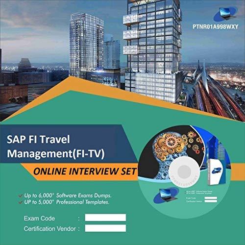 SAP FI Travel Management(FI-TV) Complete Unique Collection Interview Video Training Solution Set (DVD)