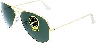 Men's RB3025 Aviator Metal Aviator Sunglasses