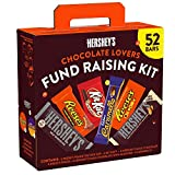 HERSHEY'S Chocolate Candy Bar Variety Pack Fundraising Kit (52ct Variety Pack)