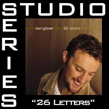 26 Letters [Studio Series Performance Track]