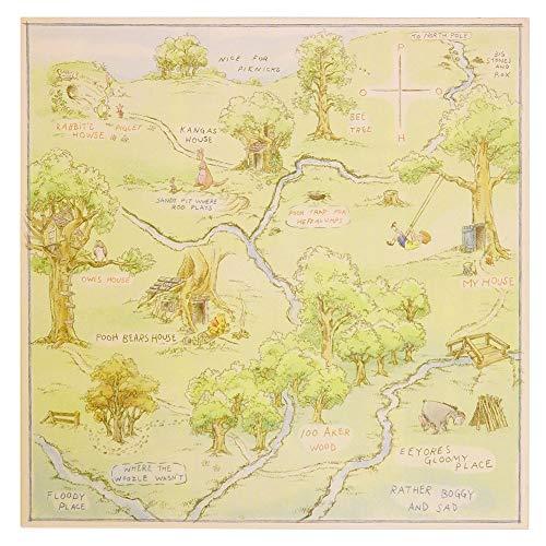 100 aker wood map - 9
