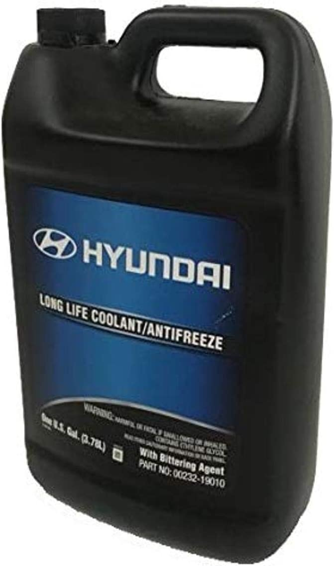 Genuine Hyundai Fluid 00232-19010 Large discharge sale Long - 1 Gallon Life Coolant Directly managed store