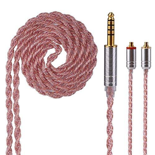4.4 MM MMCX Kabel Yinyoo 6 Kerne verkupfert Ersatz Kopfhörer Upgrade Kabel MMCX Balanced Kabel für UE900 LZ a4 A5 Shure SE215 SE315 SE846 SE535 SE425 Kopfhörer (MMCX 4.4)
