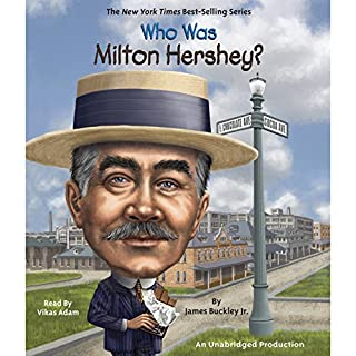Who Was Milton Hershey? cover art