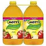 Mott's 100% Apple Juice, 2 pk./128 fl. oz.