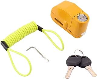 YUBINK Anti Theft Motorcycle Alarm Disc Lock Brake Motorbike + Free Reminder Cable 1.5M