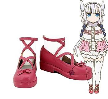 Telacos Miss Kobayashi s Dragon Maid Kanna Kamui Cosplay Shoes Boots Custom Made