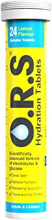 O.R.S Hydration Tablets with Electrolytes, Vegan, Gluten and