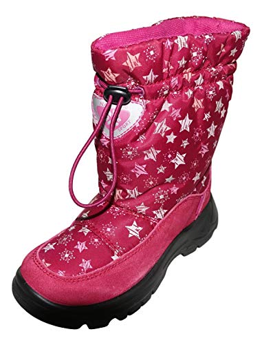 Naturino Rain Step Schuhe Stiefel Winterstiefel gefüttert wasserdicht Pink Bordeaux, Größe:30