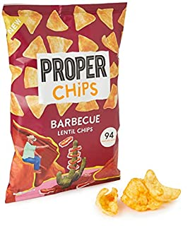 PROPERCHIPS Barbecue Lentil Chips, 85g (B081TDQGVT)   Amazon price tracker / tracking, Amazon price history charts, Amazon price watches, Amazon price drop alerts