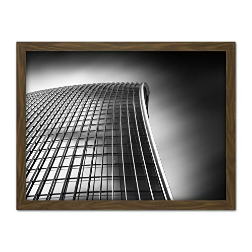 Warby Abstract Angle Walkie Talkie Building London Photo Artwork Framed Wall Art Print 18X24 Inch Guerra Resumen Londres Fotografía Pared