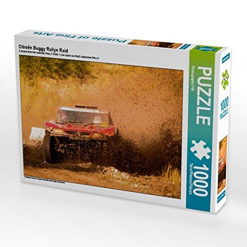 CALVENDO Puzzle Citroën Buggy Rallye Raid 1000 Teile Lege-Größe 64 x 48 cm Foto-Puzzle Bild von Photography PM