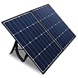 Kazeila 100W Portable Solar Panel for Solar Generator Power Station,Foldable Solar Charger Kit with DC/18V USB/5V PD/45W QC3.0...