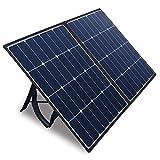 Kazeila 100W Portable Solar Panel for Solar...