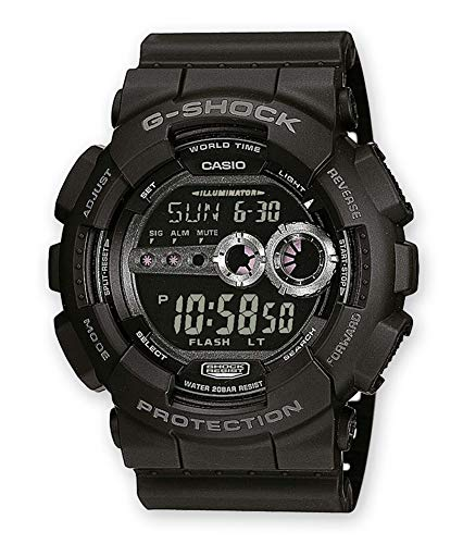 Casio G-Shock Herren Resin Uhrenarmband GD-100-1BER