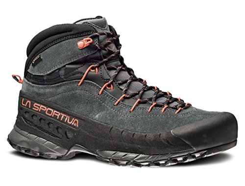 La Sportiva TX4 MID GTX Hiking Shoe - Men's, Carbon/Flame, 44.5